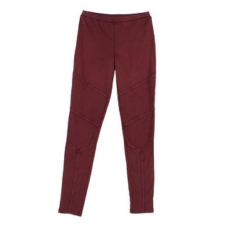 BP. Red Size Small S Junior Seamed Stretch Pull-On Moto Pants