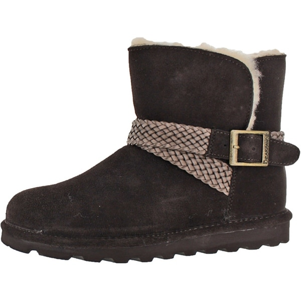 Bearpaw Women's Brienne Ankle Sheepskin Winter Boots