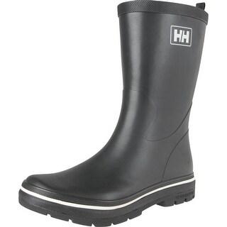 Helly Hansen 2016 Men's Midsund 2 Rain Boots - Black/Off White - 11280_990 - Black/Off White