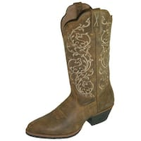 Twisted X Western Boots Womens Cowboy Bomber Brown