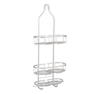 Link to Flat Shelf Aluminum Over the Showerhead Rustproof Shower Caddy Similar Items in Shower & Bath Caddies