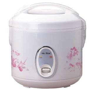 Sunpentown SC-0800P 4-Cup Rice Cooker - White