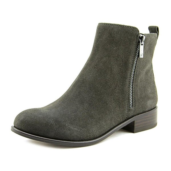 Jessica Simpson Kesaria Women Round Toe Suede Gray Ankle Boot