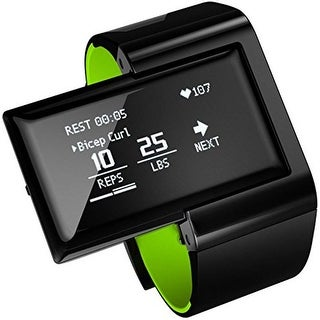 Atlas Wristband 2 Digital Trainer and Heart Monitor with Green Band