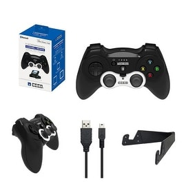 Hori iOS Horipad Bluetooth Wireless Controller with Charging Cable and Stand for Apple Devices MFI Compatible Games