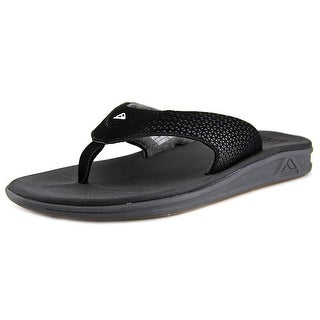 Reef Rover Men Open Toe Synthetic Black Thong Sandal