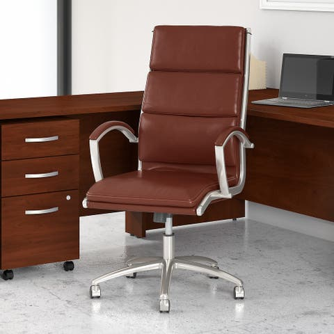 Studio C High Back Leather Executive Chair by Bush Business Furniture