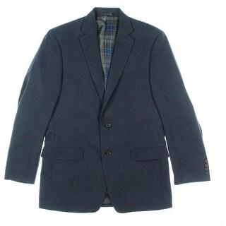 Lauren Ralph Lauren Mens Notch Collar Single Vent Sportcoat - 38R