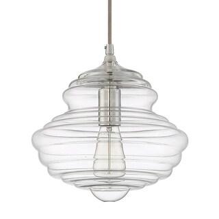 """Craftmade P6101 Mini Pendant 1 Light 11"""" Wide Single Pendant"""