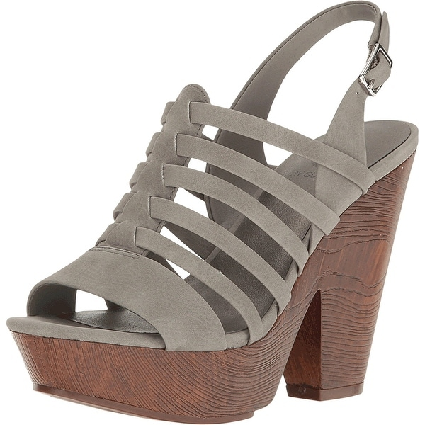 G by Guess Womens seany2 Fabric Open Toe Casual Ankle Strap Sandals