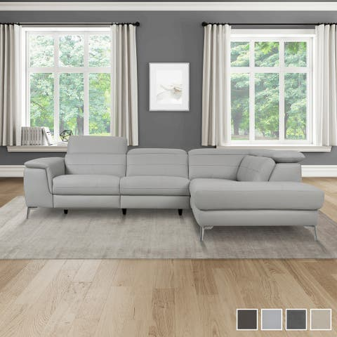 El Dorado Power Reclining Sectional Sofa with Right Chaise