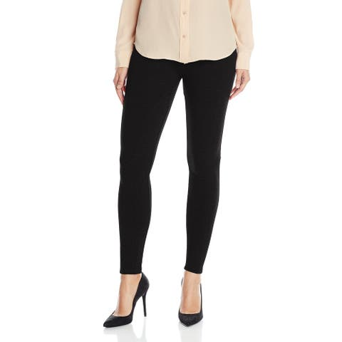 Lysse Womens Leggings Black Size Small S Ankle Stretch Mara Ponte-Knit