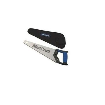 Mintcraft JL-K117413L Soft Grip Hand Saw With Sheath, 14""
