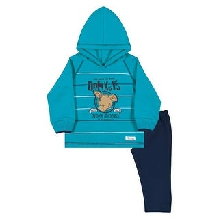 Baby Boy Outfit Hoodie Sweatshirt and Pants Set Pulla Bulla Sizes 3-12 Months