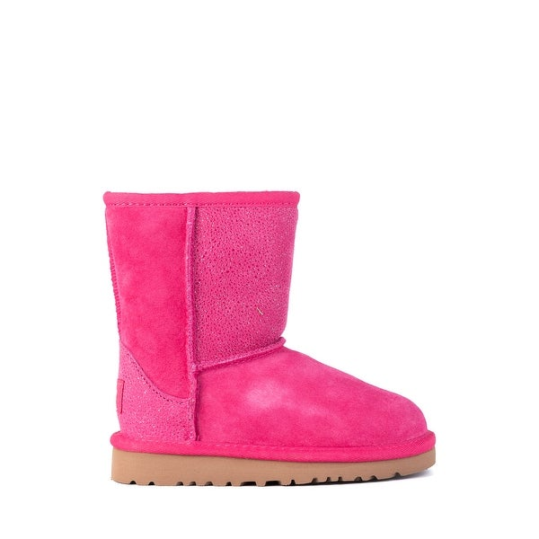1681b0e31ad Shop UGG Toddler Girls Classic Short Serein Pink Glitter Boots Size ...