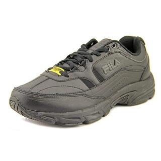 Fila Memory Workshift SR 4E Round Toe Leather Work Shoe