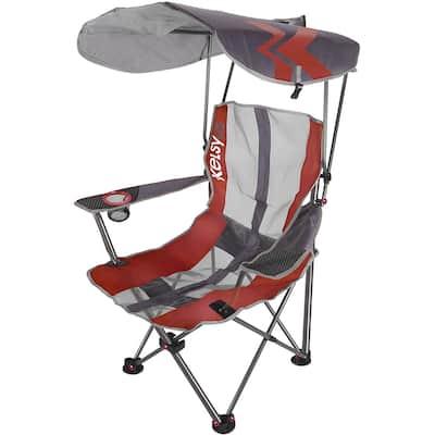 Kelsyus Premium Red Canopy Folding Chair