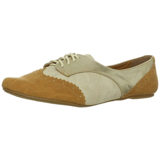 Not Rated Womens Party Pops Closed Toe Oxfords