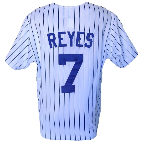 Jose Reyes New York Mets Majestic Replica White Jersey Size 2XL