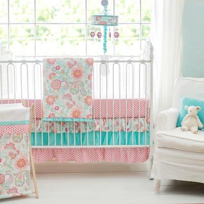 My Baby Sam Gypsy Baby 3-piece Crib Bedding Set