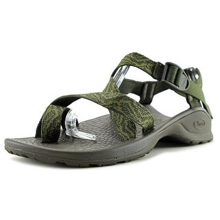 Chaco Updraft Ecotread 2 Men Open-Toe Canvas Green Sport Sandal