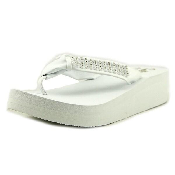 Callisto St. Croix Women White Sandals