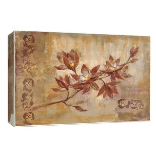 "PTM Images 9-153629  PTM Canvas Collection 8"" x 10"" - ""Copper Branch"" Giclee Flowers Art Print on Canvas"