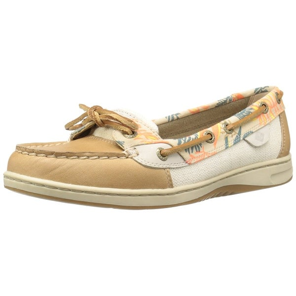 Sperry Womens Angelfish Seaweed Leather Closed Toe Loafers