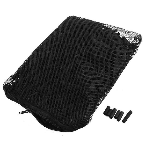 4 8mm Aquarium Activated Carbon Pond Canister Filter w Mesh Bag for Fish  Tank