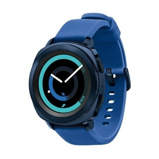 """Samsung Gear Sport Smart Watch - Blue Gear Sport Smart Watch"""