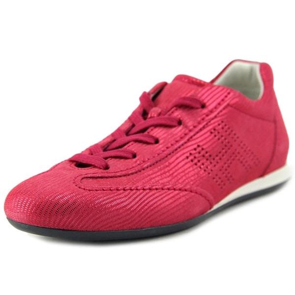 Hogan Olympia H Bucata Women Synthetic Pink Fashion Sneakers