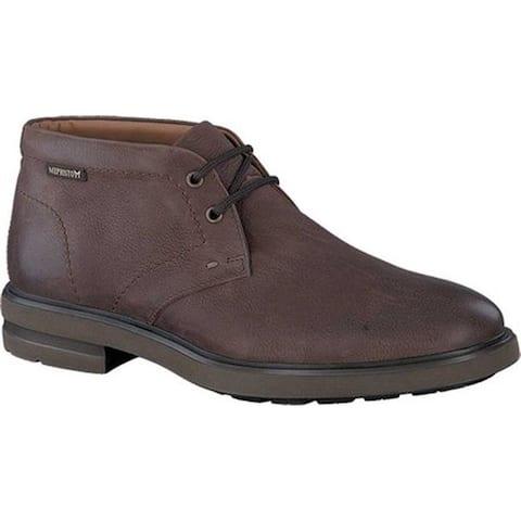 Mephisto Men's Owen Ankle Boot Dark Brown Leather
