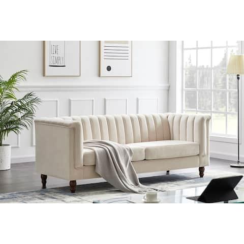 Sunset Velvet Sofa