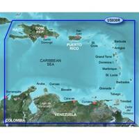 Garmin 010C073200 Bluechart g2 vision VUS031R, Southwest Caribbean (SD Card) - Blue