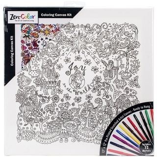 Adult Coloring Canvas 12\