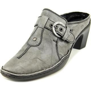 Josef Seibel Calla 08 Round Toe Leather Mules