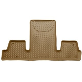Husky Classic 2007-2016 GMC Acadia 3rd Row Bucket Tan Rear Floor Mats/Liners