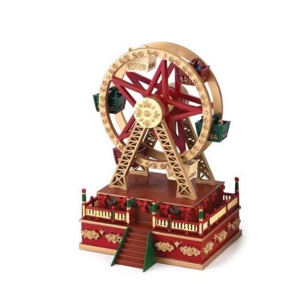 Mr. Christmas Musical Carnival Ferris Wheel Miniature Holiday Decoration #19705