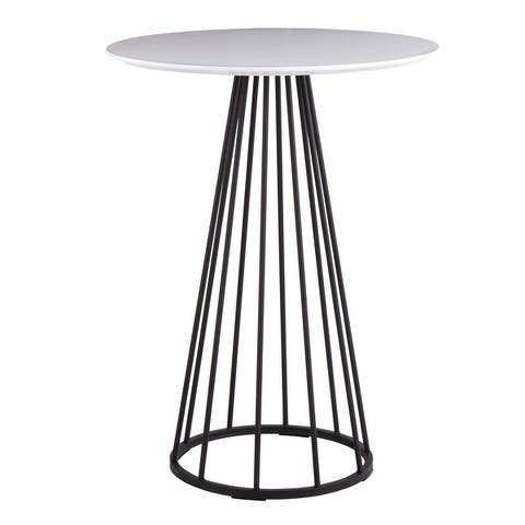 Silver Orchid Haid Counter Height Dining Table