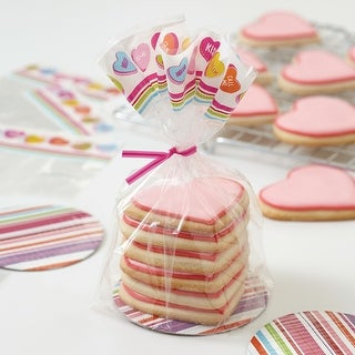 Mini Cookie Plate Kit Makes 8-Words Can Express