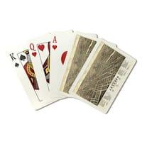 Jackson, Michigan - Panoramic Map (Poker Playing Cards Deck)