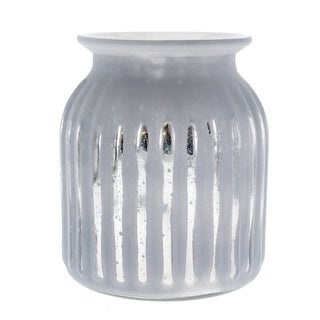White Frost Glass Vase