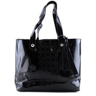 Buco FL194    Patent Leather  Tote - Black