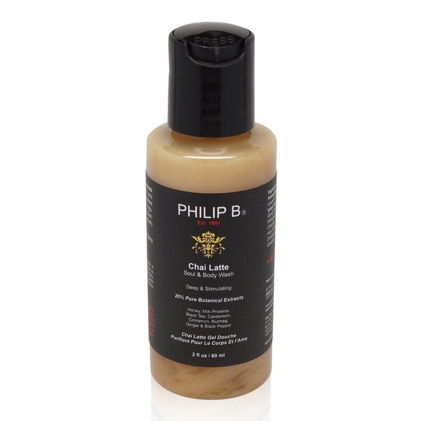 PHILIP B Chai Latte Soul and Body Wash 2 fl. Oz