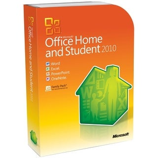 Microsoft Office Home and Student 2010 for Windows