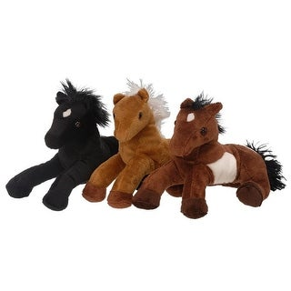 "Gift Corral Western Toy Plush Entertainment Horse 10"" - multi-color"