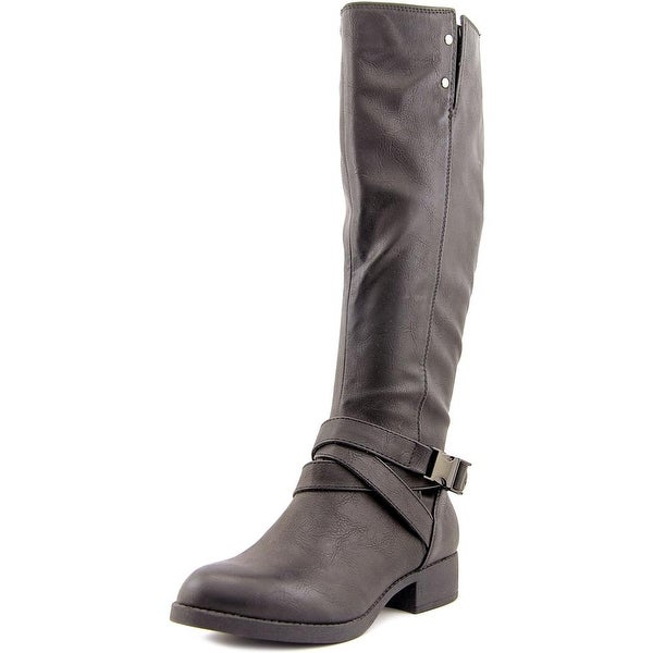 Wanted Embrace Round Toe Synthetic Knee High Boot