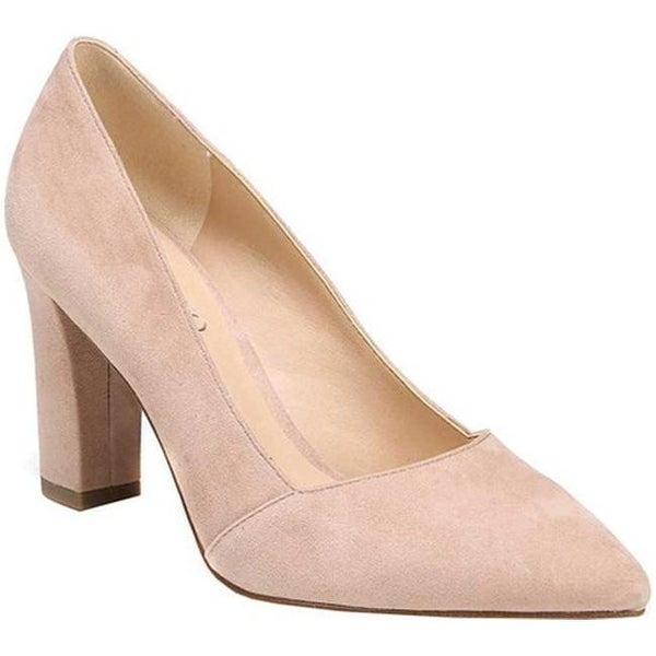9133db0e2b48 Shop Franco Sarto Women s Abree Pump Peach Diva Suede - Ships To ...