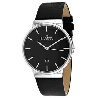 c64b31ab4c3 Skagen Men s Ancher Silver Stainless-Steel Japanese Quartz Fashion Watch.  Quick View