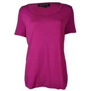 Jones New York Women's Short Sleeve Blouse - small